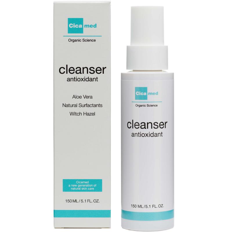 Cicamed Organic Science Cleanser Antioxidant i gruppen Hudpleie / Ansiktsrens / Rengjøringsgel hos Bangerhead.no (B027288)