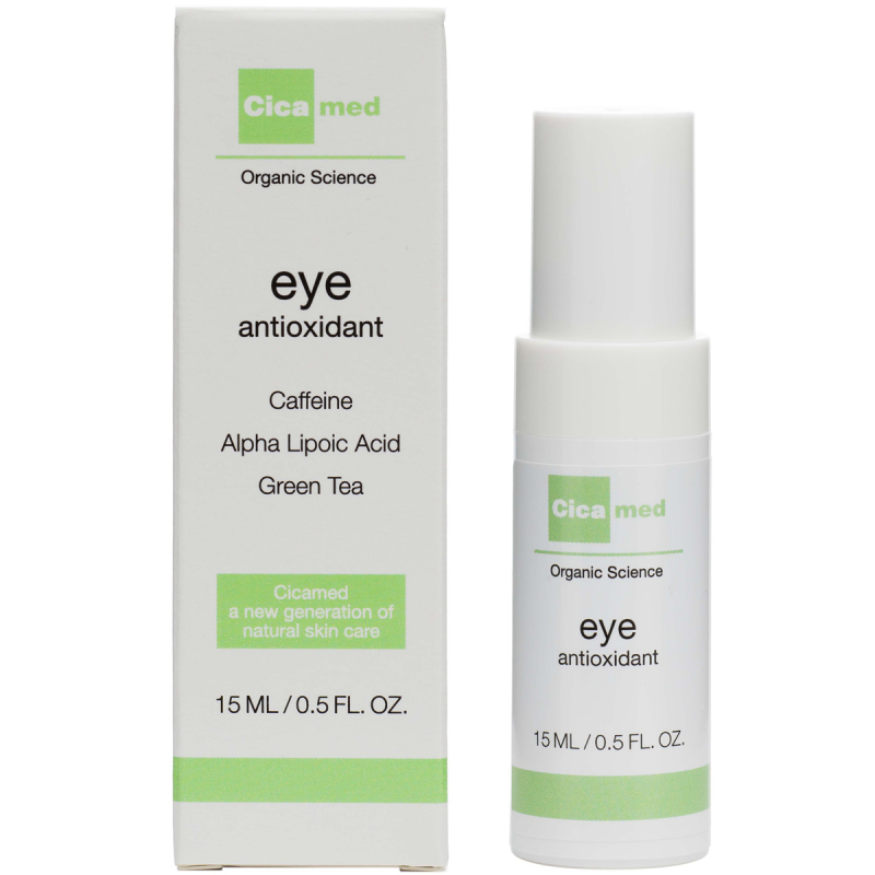 Cicamed Organic Science Eye Antioxidant (15ml) ryhmässä Ihonhoito / Silmät / Silmänympärysvoiteet at Bangerhead.fi (B027290)