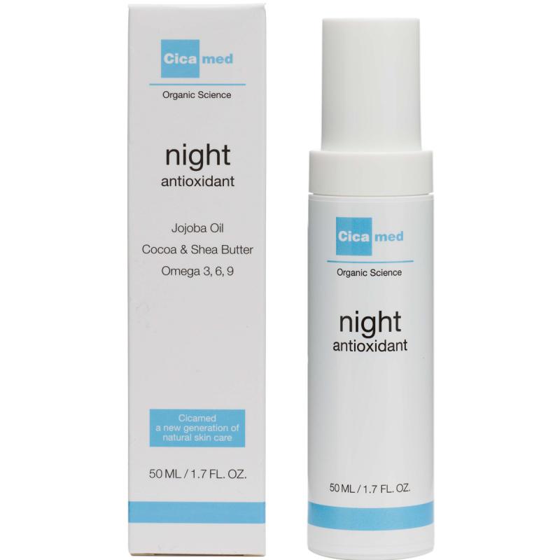 Cicamed Organic Science Night Antioxidant (50ml) i gruppen Hudvård / Ansiktskräm / Nattkräm hos Bangerhead (B027293)