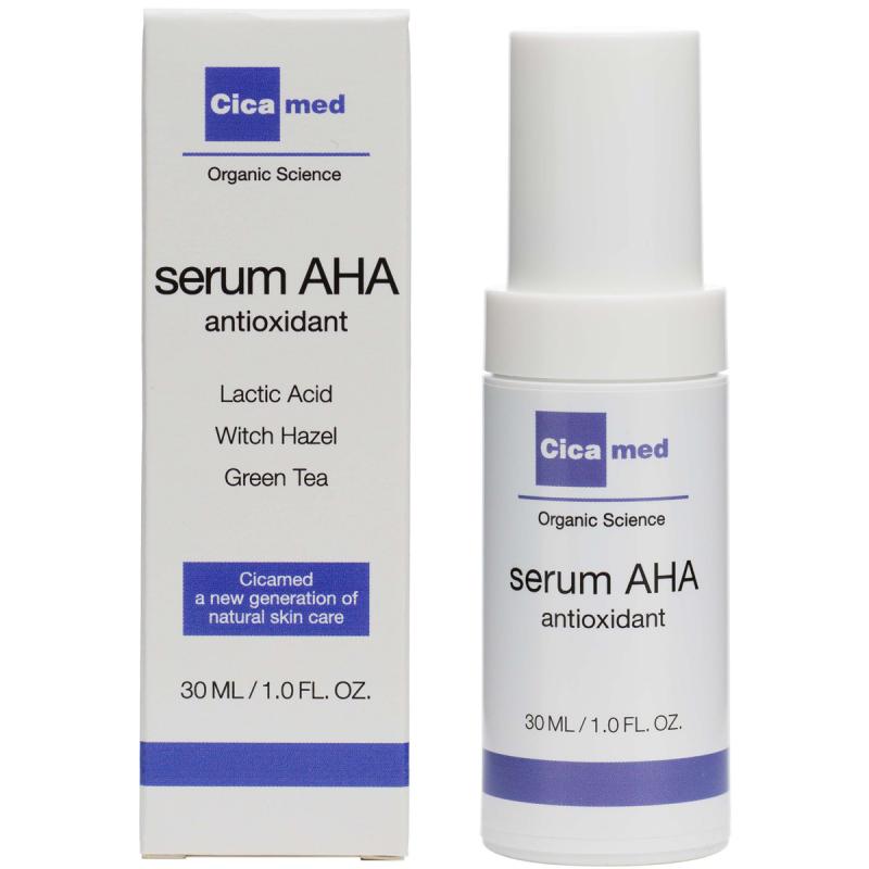 Cicamed Organic Science Serum AHA (30ml) i gruppen Hudvård / Ansiktsserum & olja / Ansiktsserum hos Bangerhead (B027294)