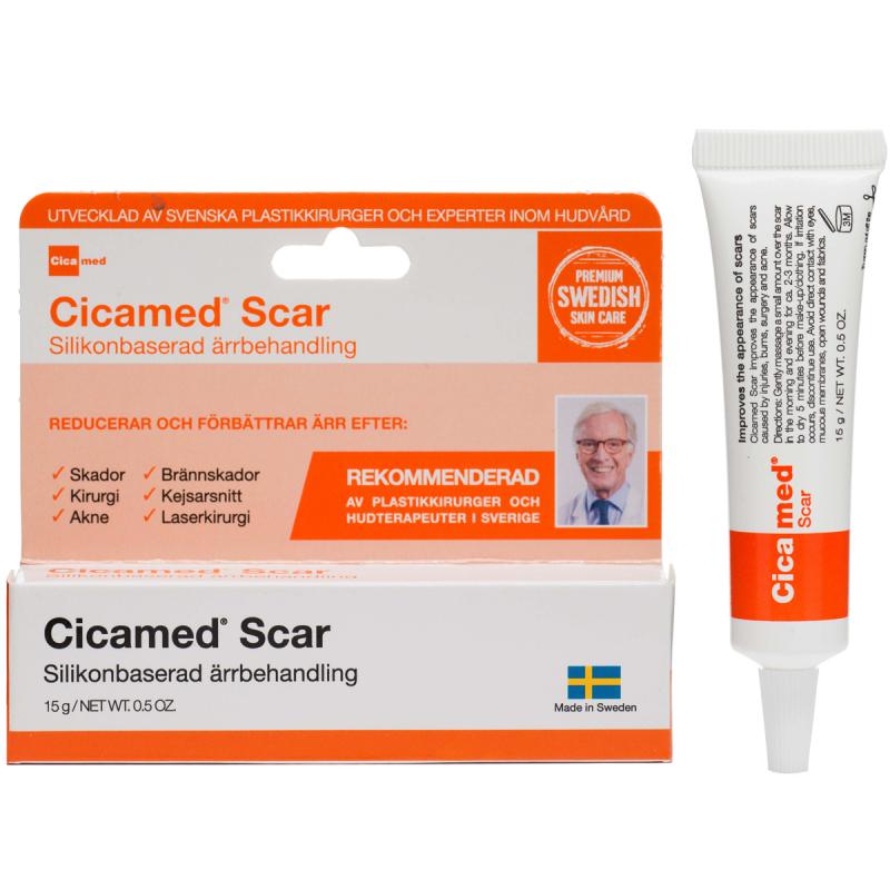 Cicamed Medical Science Scar i gruppen Hudvård / Ansiktsmask / Krämmask hos Bangerhead (B027296)