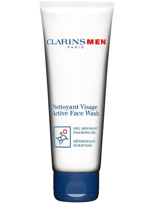 Clarins Active Face Wash (125ml) ryhmässä Miehet / Ihonhoito miehille / Kasvojenpuhdistus miehille at Bangerhead.fi (B027297)