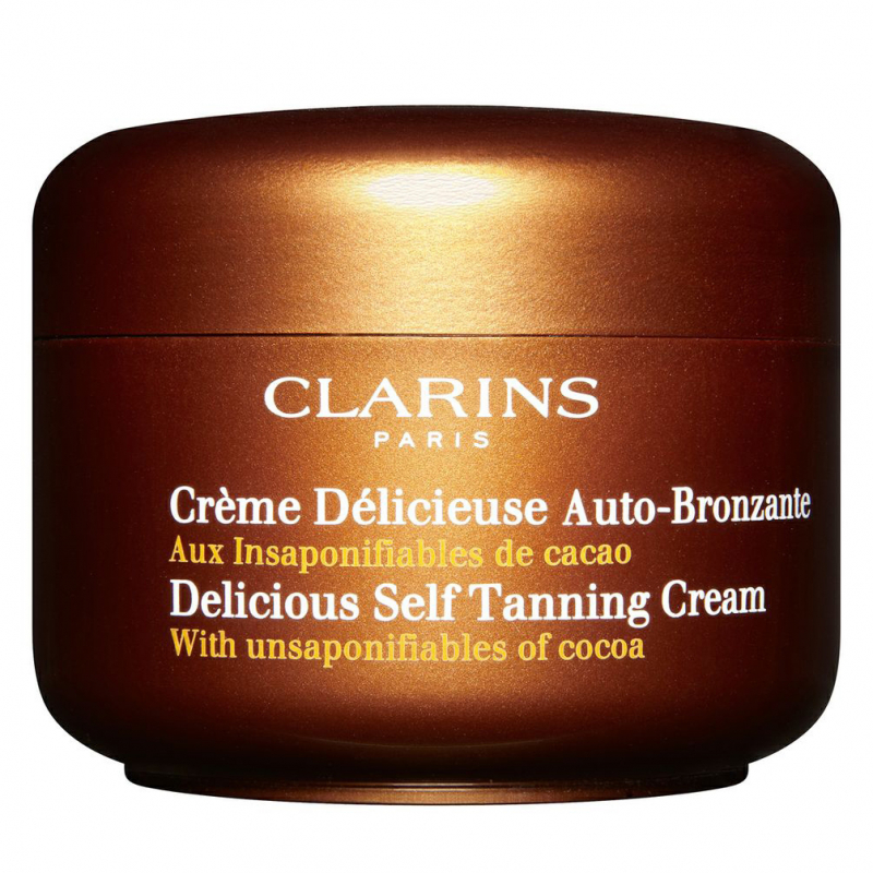 Clarins Delicious Self Tanning Cream   i gruppen Hudpleie / Sol & tan for ansikt / Selvbruning for ansikt hos Bangerhead.no (B027317)