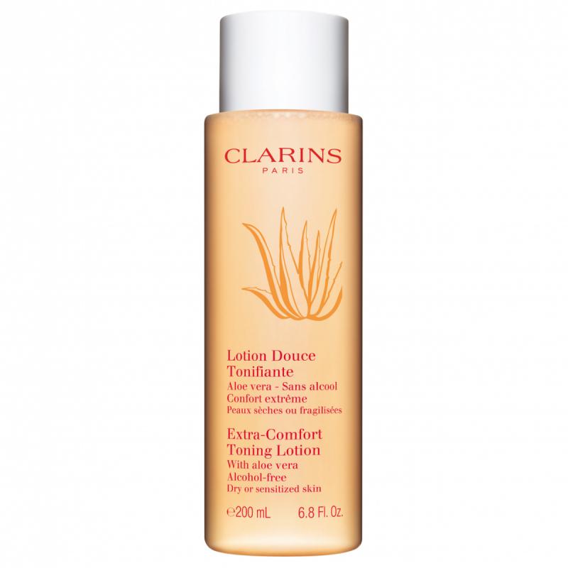 Clarins Extra-Comfort Toning Lotion (200ml) i gruppen Hudvård / Ansiktsvatten / Ansiktsvatten & toner hos Bangerhead (B027327)