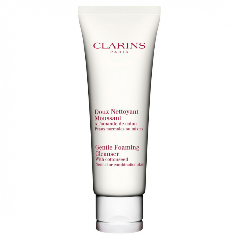 Clarins Gentle Foaming Cleanser Normal or Combination Skin (125ml) i gruppen Hudvård / Ansiktsrengöring / Rengöringsskum hos Bangerhead (B027347)