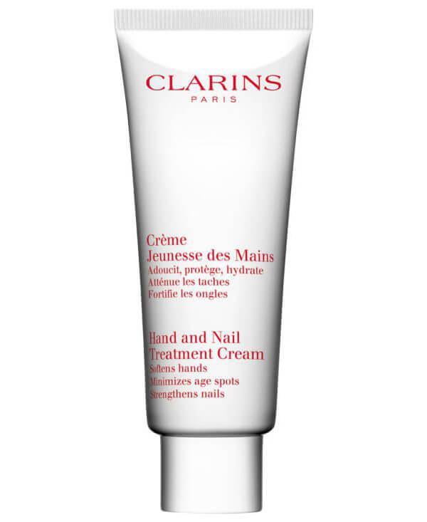 Clarins Hand And Nail Treatment Cream (100ml) ryhmässä Vartalonhoito  / Kädet & jalat / Käsivoiteet at Bangerhead.fi (B027350)