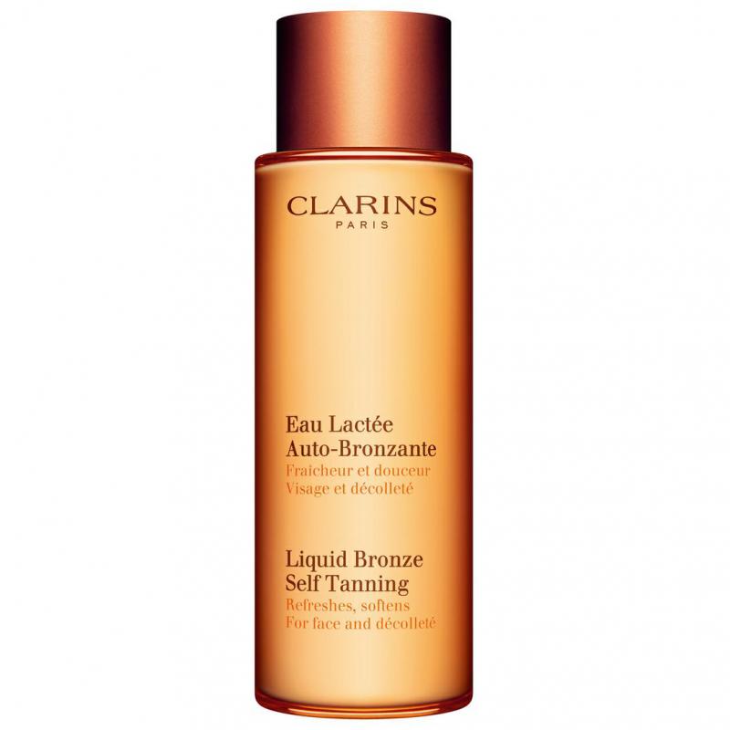 Clarins Liquid Bronze Self Tanning   ryhmässä Ihonhoito / Aurinkotuotteet kasvoille / Itseruskettavat kasvoille at Bangerhead.fi (B027366)