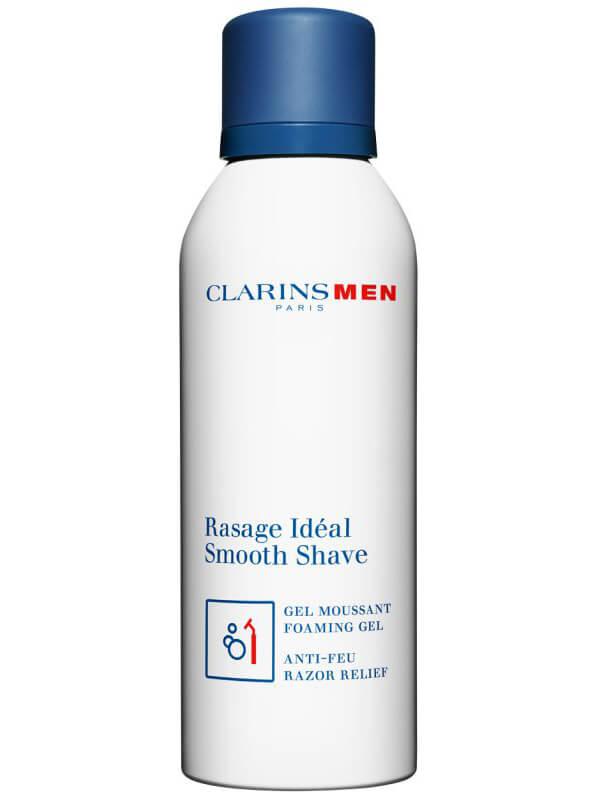 Clarins Men Smooth Shave Foaming Gel (150ml) ryhmässä Miehet / Parranajo miehille / Partavaahdot & geelit miehille at Bangerhead.fi (B027400)