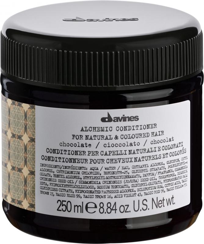 Davines Alchemic Conditioner Chocolate i gruppen Hårvård / Hårfärg / Färginpackning hos Bangerhead (B027437)