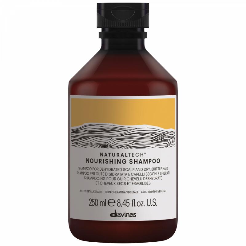 Davines Naturaltech Nourishing Shampoo (250ml) i gruppen Hårvård / Schampo  / Schampo hos Bangerhead (B027449)