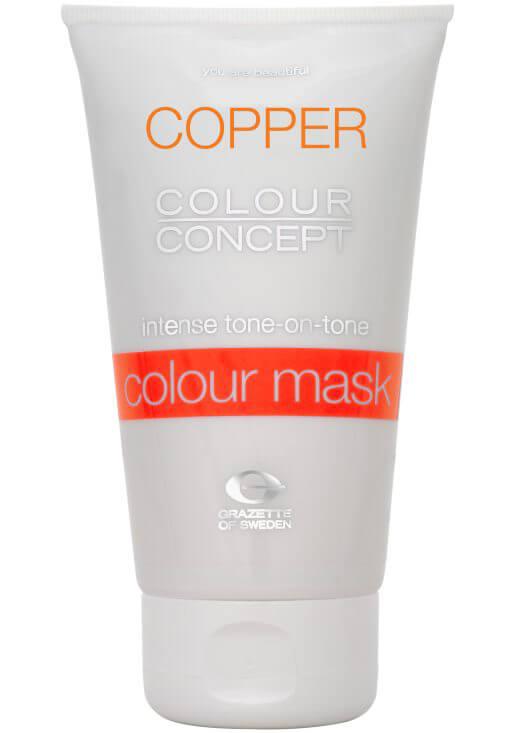 Grazette Colour Mask Foxy Copper 150ml i gruppen Hårvård / Hårfärg / Färginpackning hos Bangerhead (B027780)