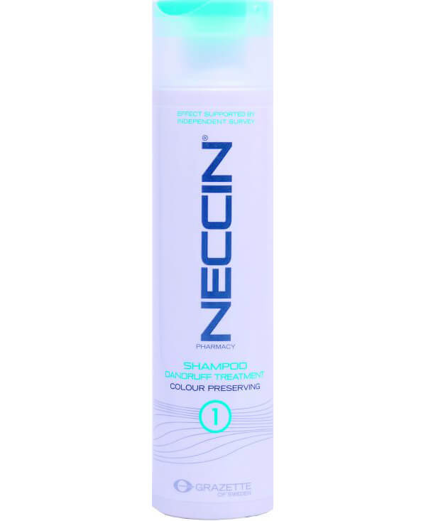 Grazette Neccin Shampoo Dandruff 1 Treatment i gruppen Hårvård / Inpackning & treatments / För hårbotten hos Bangerhead (B027785r)