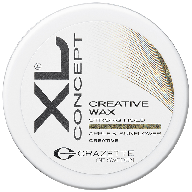 Grazette of Sweden XL Creative Wax (100ml) i gruppen Hårvård / Styling / Hårvax & stylingpaste  hos Bangerhead (B027797)