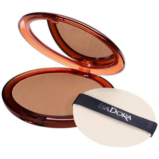 IsaDora Bronzing Powder 45 Highlight Tan i gruppen Makeup / Kinder / Bronzer hos Bangerhead (B027874)