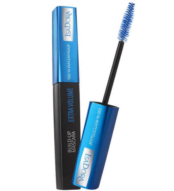IsaDora Build-up Mascara Extra Volume 100% Waterproof 23 Dark Blue i gruppen Makeup / Ögon / Mascara hos Bangerhead (B027885)
