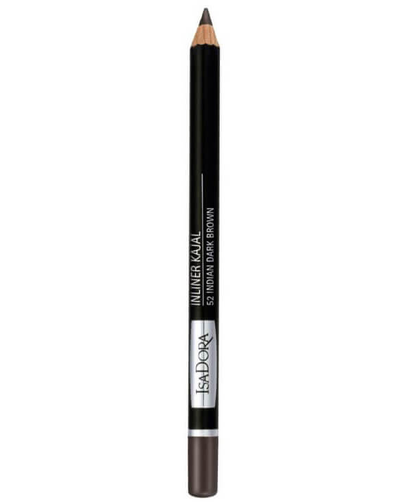 IsaDora Inliner Kajal 52 Inliner Kajal - Indian Dark Brown i gruppen Makeup / Ögon / Eyeliner hos Bangerhead (B027913)