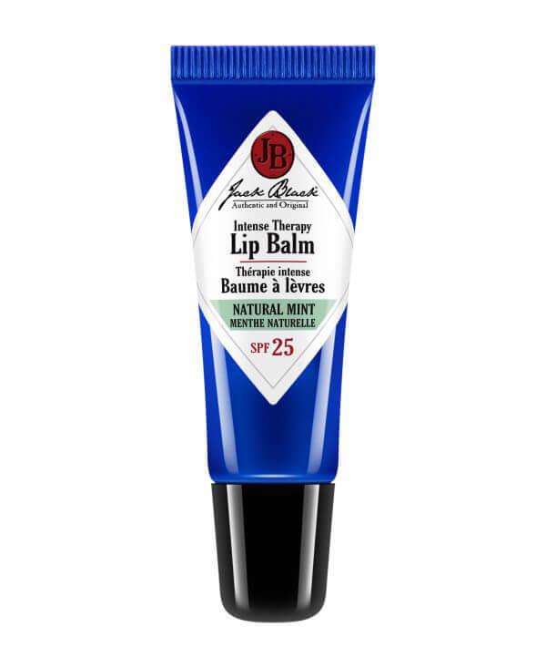 Jack Black Intense Therapy Lip Balm SPF 25 Natural Mint & Shea Butter ryhmässä Miehet / Ihonhoito miehille / Seerumit miehille at Bangerhead.fi (B028037)