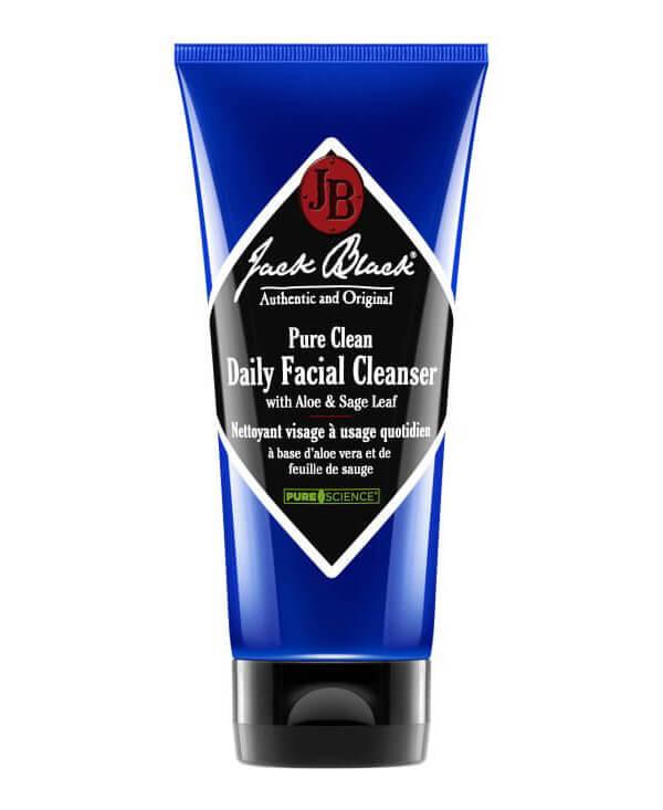 Jack Black Pure Clean Daily Facial Cleanser ryhmässä Miehet / Ihonhoito miehille / Puhdistustuotteet miehille at Bangerhead.fi (B028040)