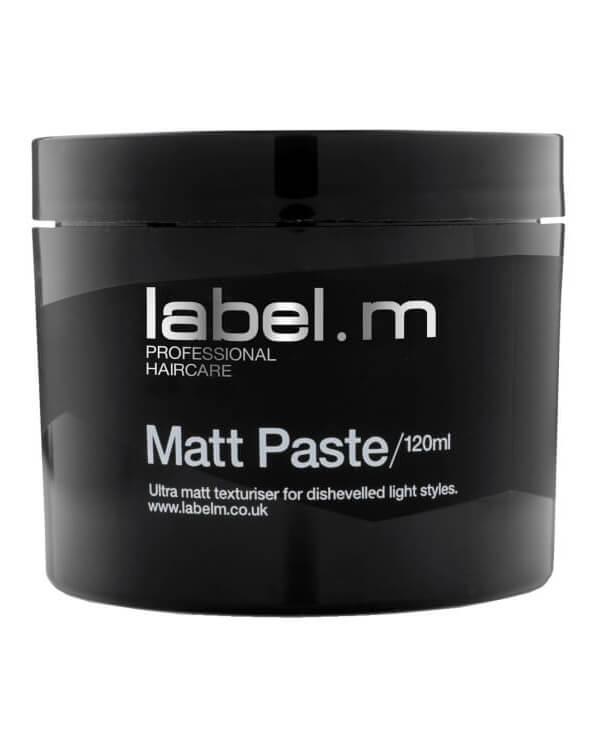 Label.M Matt Paste (120ml) ryhmässä Miehet / Hiustenhoito miehille / Muotoilutuotteet miehille at Bangerhead.fi (B028153)