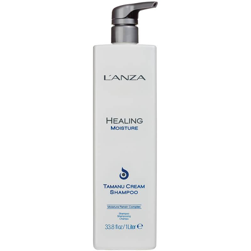 Lanza Healing Moisture Tamanu Cream Shampoo (1000 ml) i gruppen Hårvård / Schampo & balsam / Schampo hos Bangerhead (B028182)