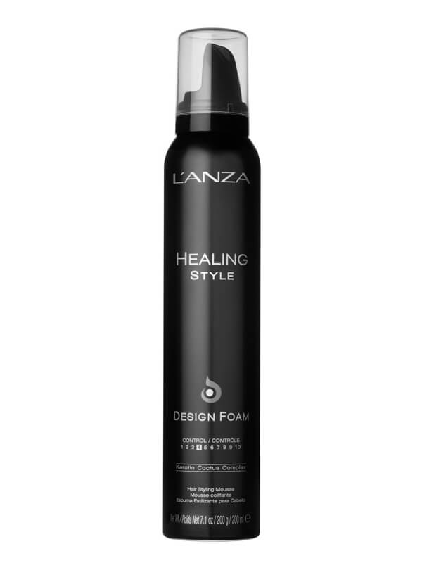 Lanza Healing Style Design Foam 200 ml i gruppen Hårvård / Styling / Värmeskydd hos Bangerhead (B028197)