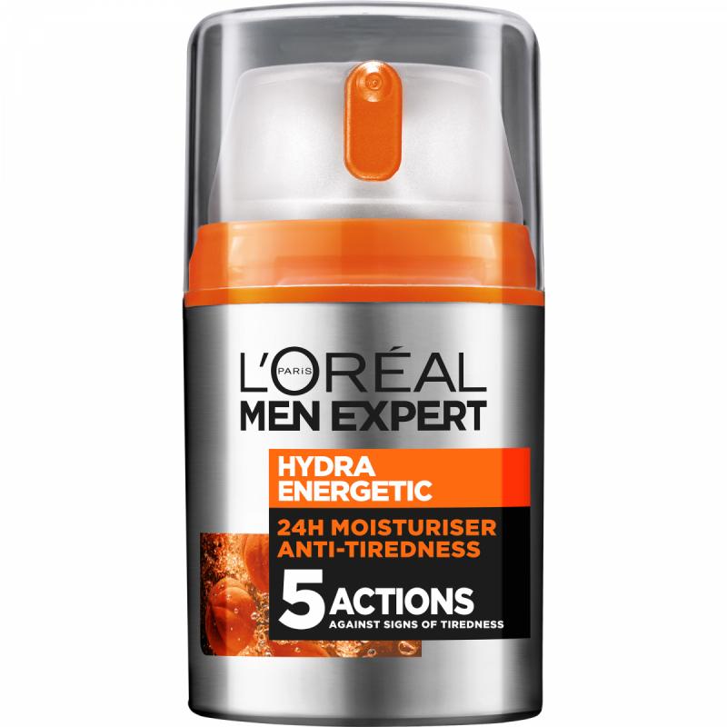 Loreal Men Expert Hydra Energetic Pump i gruppen Man / Hudvård för män / Ansiktskräm för män hos Bangerhead (B028235)