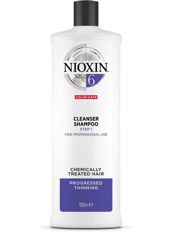 Nioxin System 6 Cleanser ryhmässä Hiustenhoito / Shampoot & hoitoaineet / Shampoot at Bangerhead.fi (B028544r)