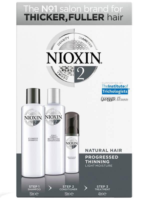 Nioxin Trialkit System 2 i gruppen Man / Hårvård för män / Schampo för män hos Bangerhead (B028550)