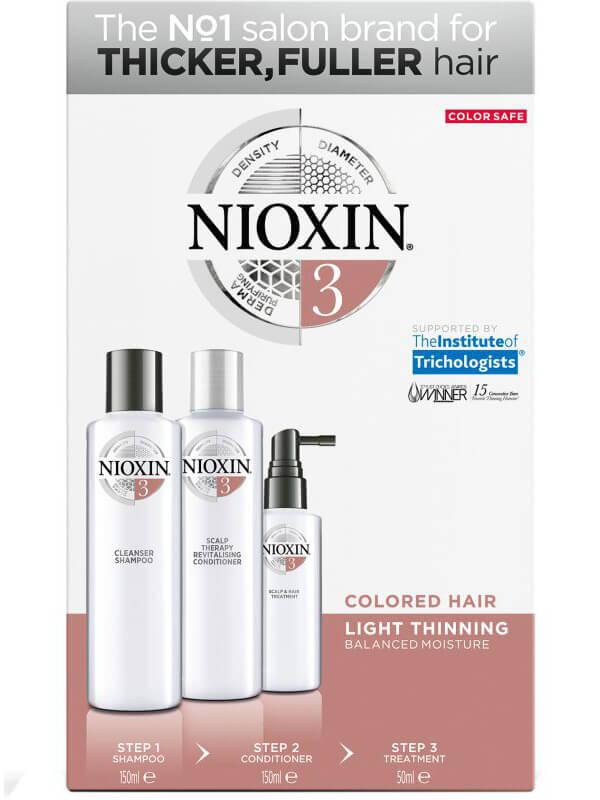 Nioxin Trialkit System 3 i gruppen Man / Hårvård för män / Schampo för män hos Bangerhead (B028551)