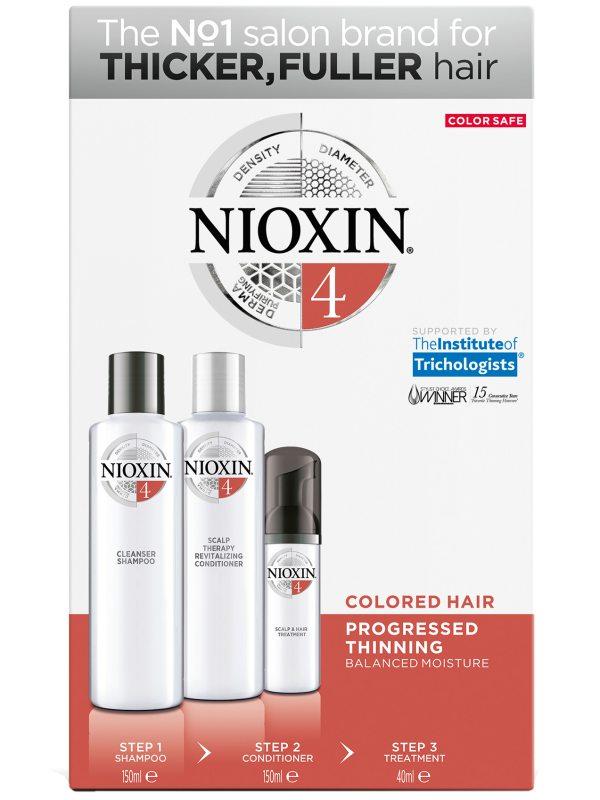 Nioxin Trialkit System 4 i gruppen Mann / Hårpleie for menn / Styling hos Bangerhead.no (B028552)