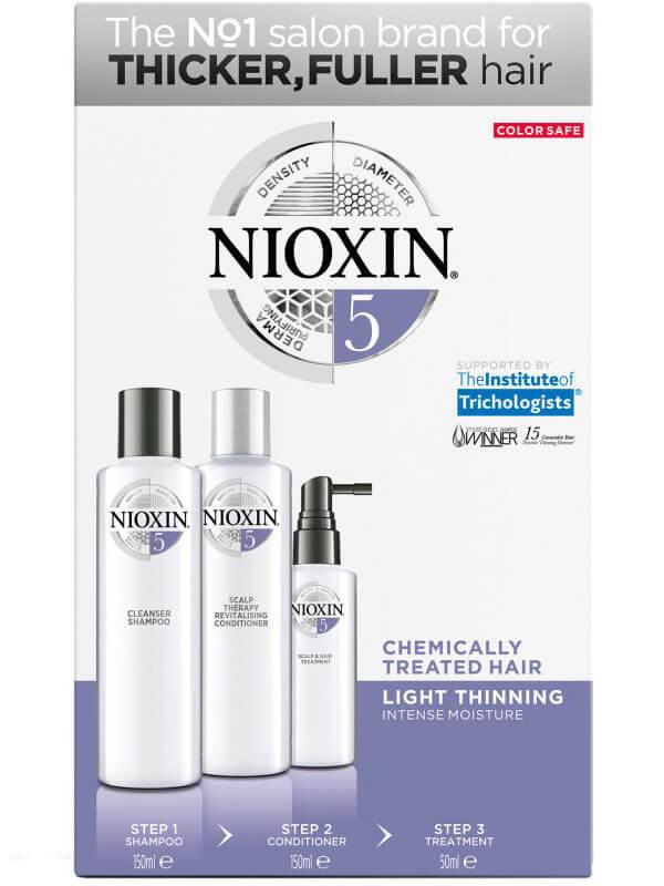 Nioxin Trialkit System 5 i gruppen Mann / Hårpleie for menn / Shampoo hos Bangerhead.no (B028553)