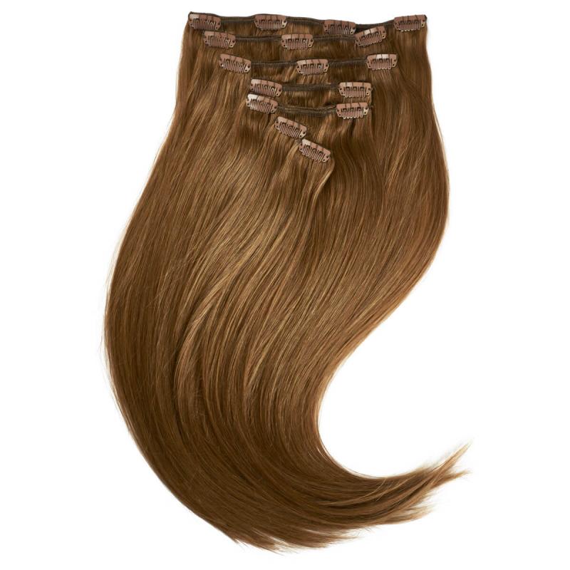 Rapunzel #10 Ruskea Clip On-set Hair Extensions ryhmässä Hiustenhoito / Hiustenpidennykset at Bangerhead.fi (B028722)