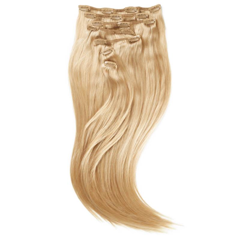 Rapunzel 22 Blond Clip On-set Hair Extensions i gruppen Hårvård / Hårförlängning hos Bangerhead (B028727)