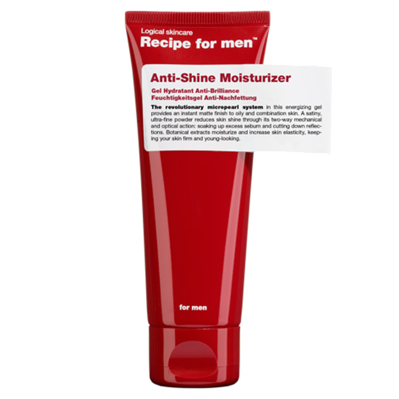 Recipe for Men Anti-Shine Moisturizer  i gruppen Man / Hudvård för män / Ansiktskräm för män hos Bangerhead (B028740)