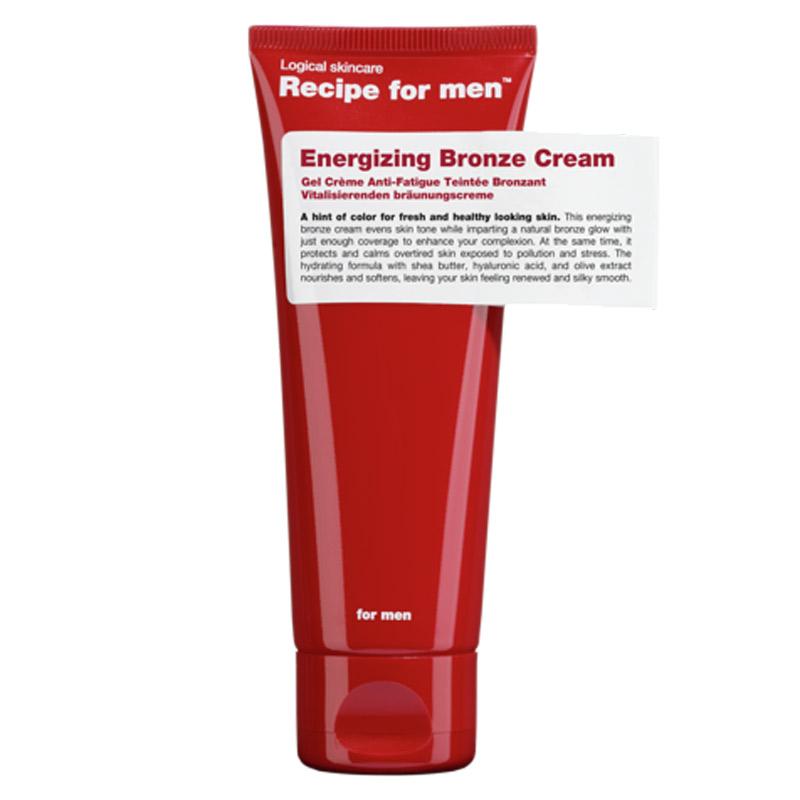 Recipe for Men Energizing Bronze Cream i gruppen Man / Hudvård / Brun utan sol hos Bangerhead (B028745)