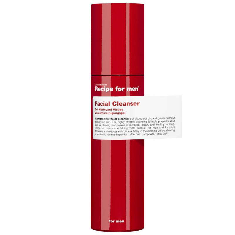 Recipe for Men Facial Cleanser  i gruppen Mann / Hudpleie  / Rengjøring hos Bangerhead.no (B028746)