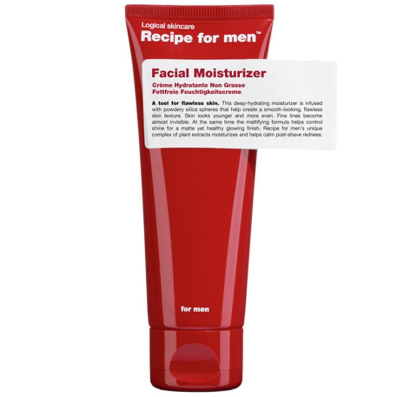 Recipe for Men Facial Moisturizer  i gruppen Mann / Hudpleie  / Ansiktskrem hos Bangerhead.no (B028747)