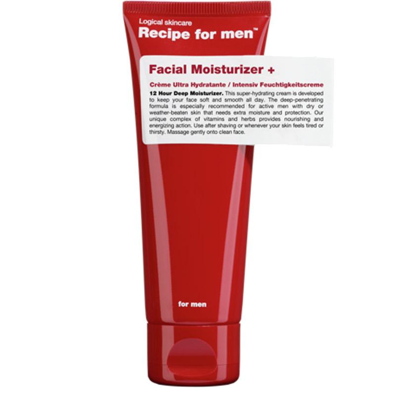 Recipe for Men Facial Moisturizer +  ryhmässä Miehet / Ihonhoito miehille / Kasvovoiteet miehille at Bangerhead.fi (B028748)
