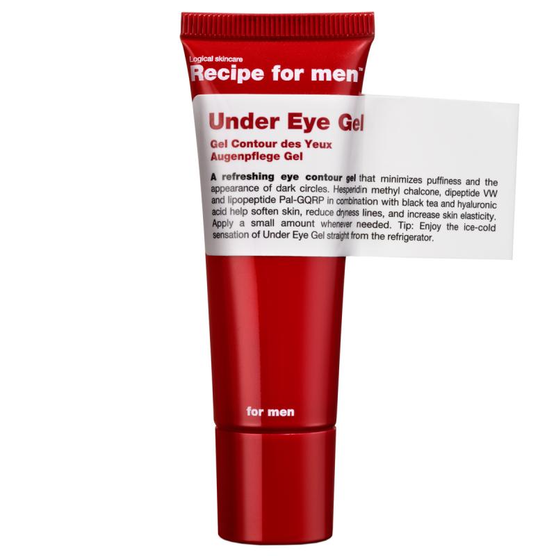 Recipe for Men Under Eye Gel  i gruppen Mann / Hudpleie  / Øyekrem hos Bangerhead.no (B028754)