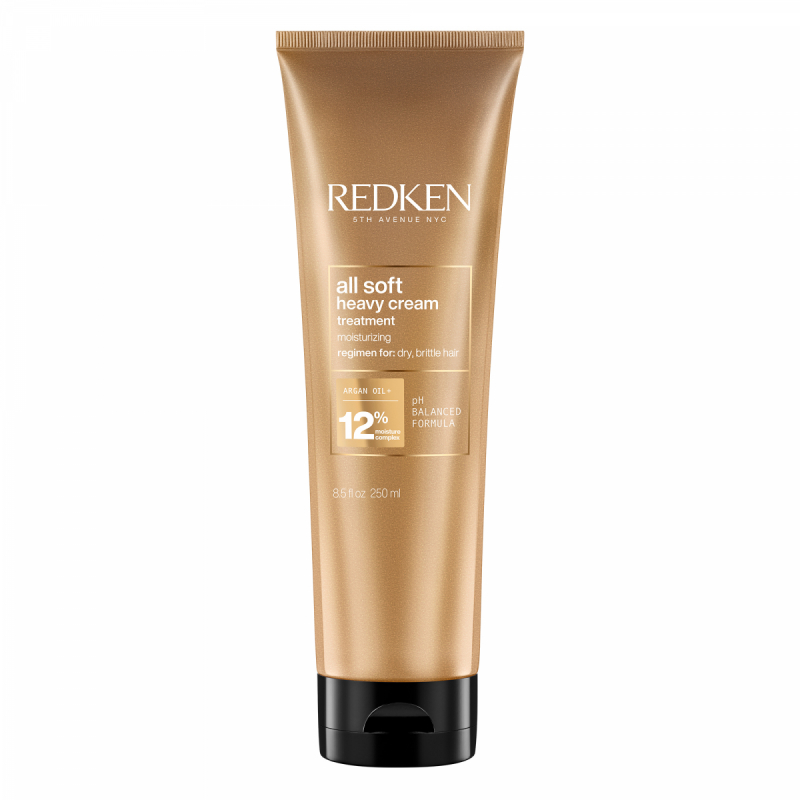 Redken All Soft Heavy Creme (250ml) i gruppen Hårpleie / Hårkur & treatments / Hårkur hos Bangerhead.no (B028758)