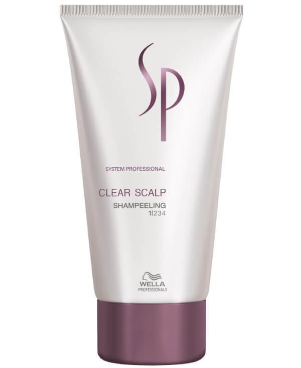 Wella SP Clear Scalp Shampeeling (150ml) i gruppen Hårvård / Hårinpackning & treatments / För hårbotten hos Bangerhead (B028919)