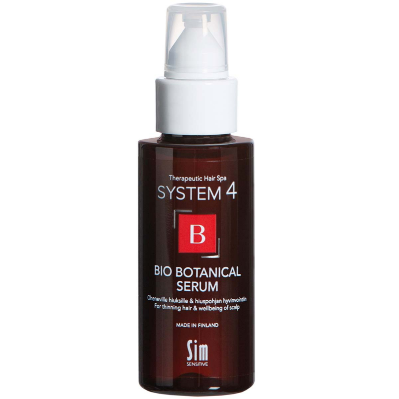 System 4 Bio Botanical Serum i gruppen Mann / Hårpleie for menn / Hårtap & treatments hos Bangerhead.no (B028954r)