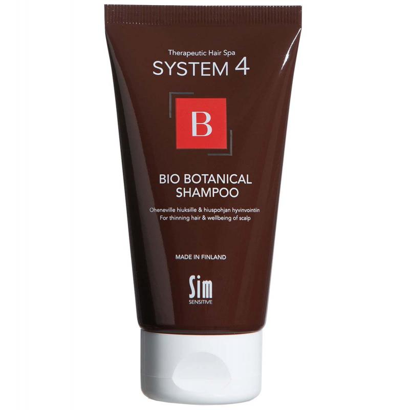 SIM Sensitive System 4 Bio Botanical Shampoo ryhmässä Hiustenhoito / Hiusnaamiot ja hoitotuotteet / Hiuspohjan hoitotuotteet at Bangerhead.fi (B028956r)