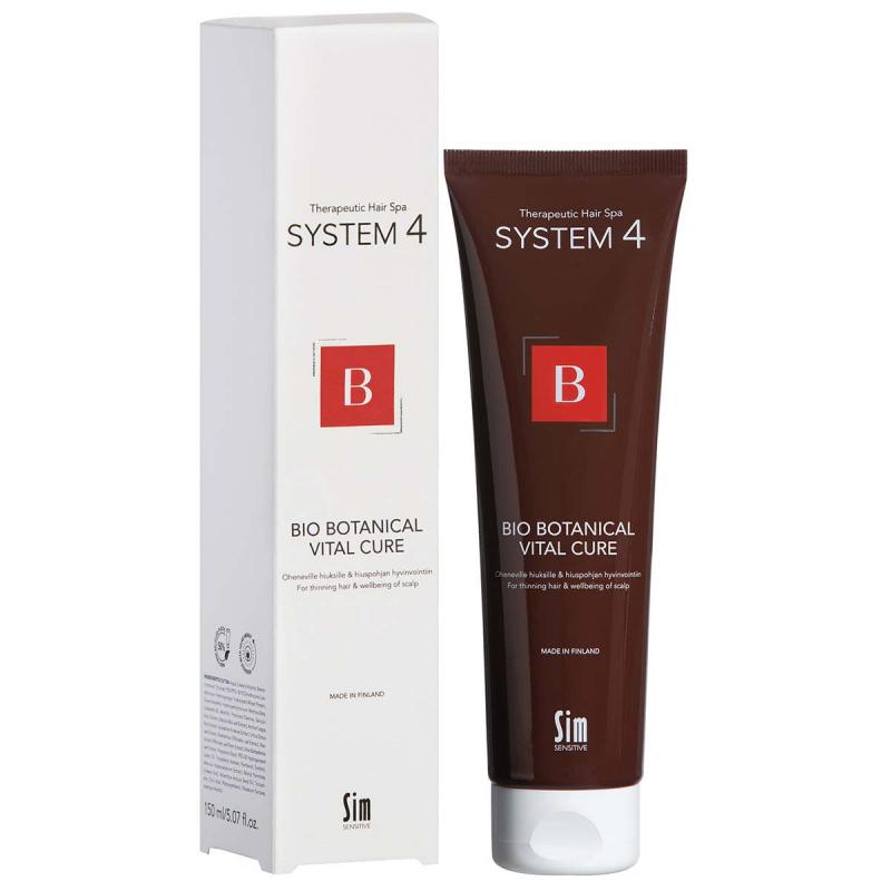 System 4 Bio Botanical Vital Cure i gruppen Hårvård / Inpackning & treatments / För hårbotten hos Bangerhead (B028958r)