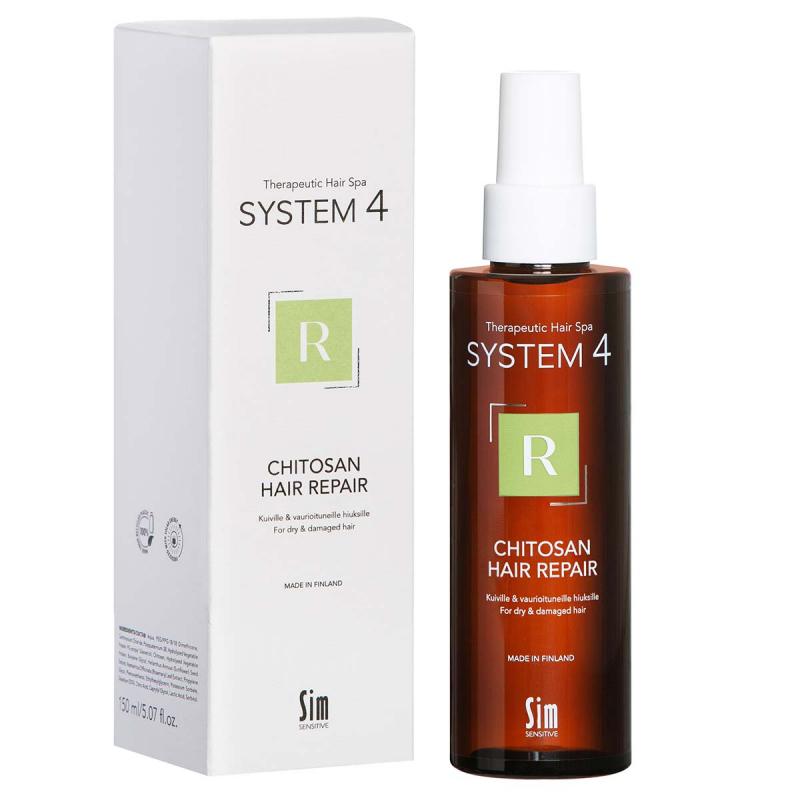 SIM Sensitive System 4 Chitosan Hair Repair Leave-In-Spray ryhmässä Hiustenhoito / Hiusnaamiot ja hoitotuotteet / Hiuspohjan hoitotuotteet at Bangerhead.fi (B049374r)