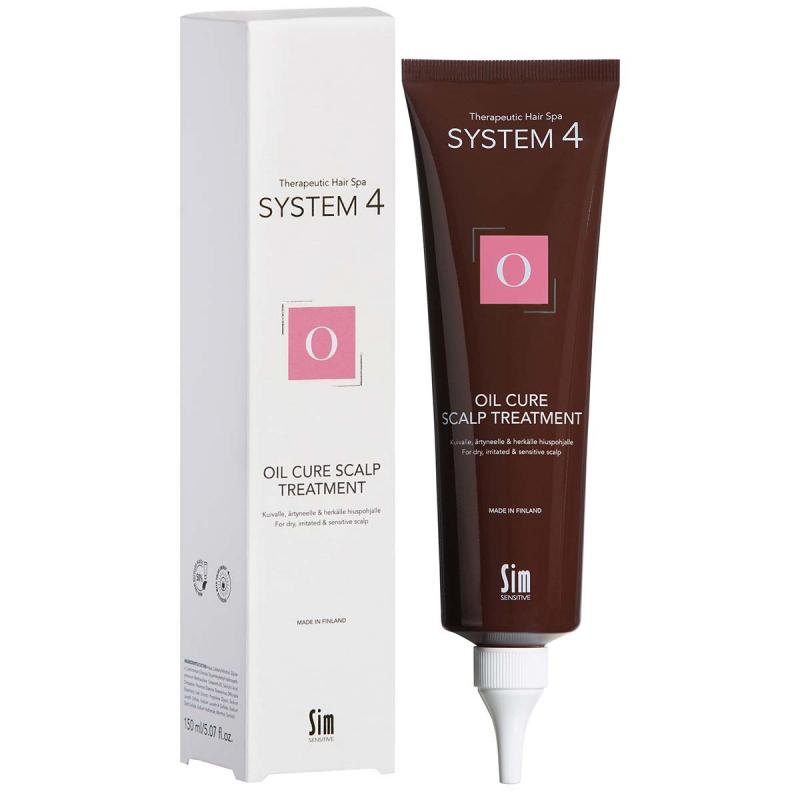 System 4 O Oil Cure Hair Mask 215 ml ryhmässä Hiustenhoito / Hiusnaamiot ja hoitotuotteet / Naamiot at Bangerhead.fi (B028964)