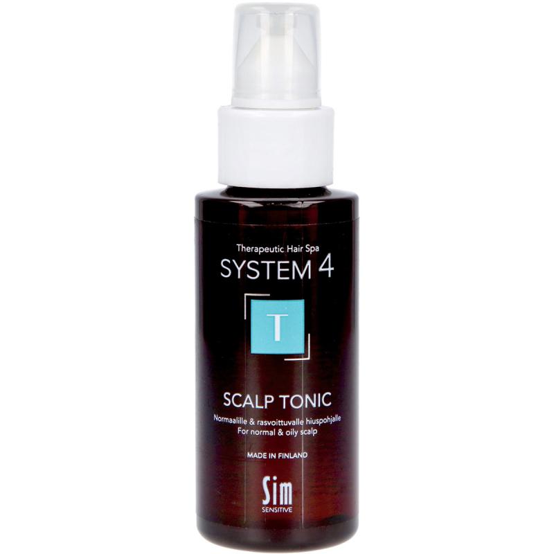 SIM Sensitive System 4 T Climbazole Scalp Tonic i gruppen Hårvård / Hårinpackning & treatments / För hårbotten hos Bangerhead (B028965r)
