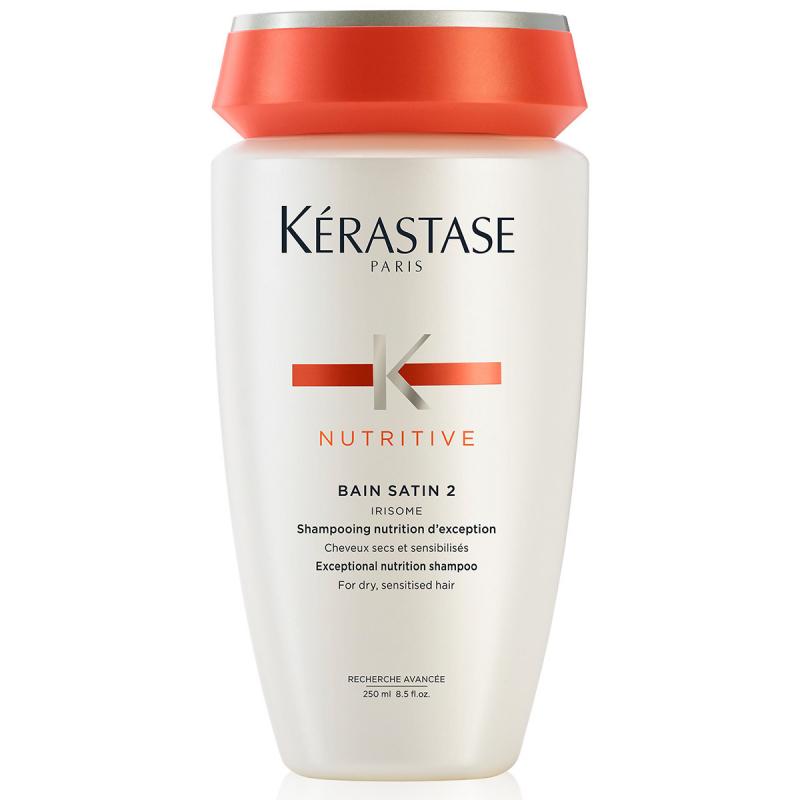 Kérastase Nutritive Bain Satin 2 (250ml) ryhmässä Hiustenhoito / Shampoot & hoitoaineet / Shampoot at Bangerhead.fi (B030007)