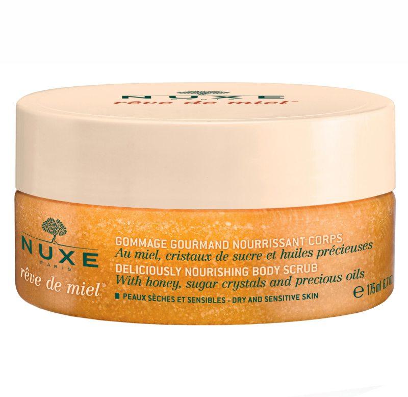 NUXE Reve De Miel Body Scrub (175ml) ryhmässä Vartalonhoito  / Vartalonpuhdistus & -kuorinta / Vartalonkuorintatuotteet at Bangerhead.fi (B036902)