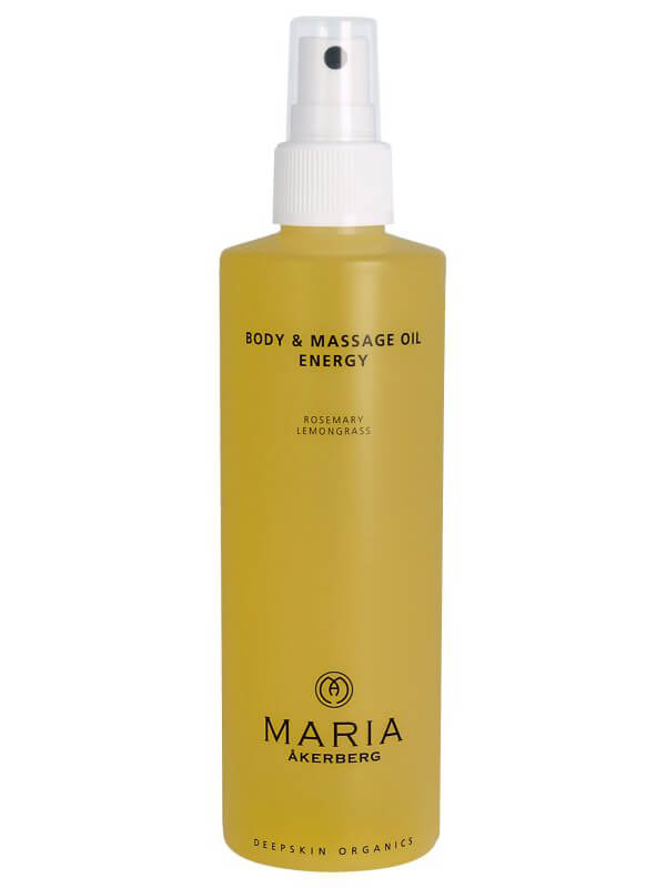 Maria Åkerberg Body & Massage Oil Energy ryhmässä Vartalonhoito & spa / Vartalon kosteutus / Vartaloöljy at Bangerhead.fi (B037241r)